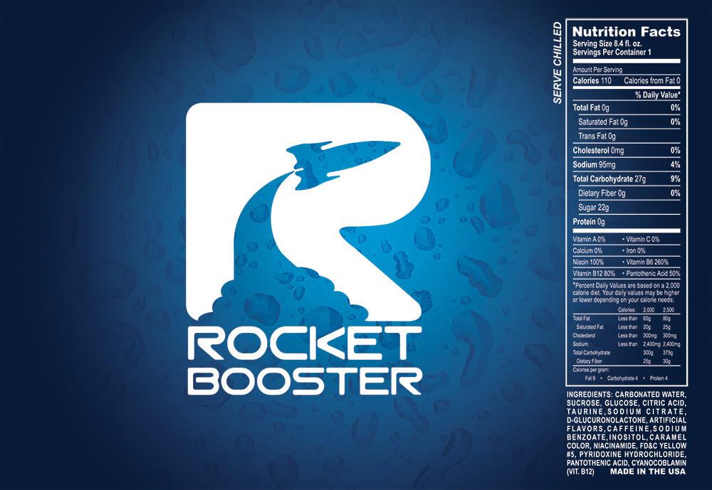 Rocket Booster Graphic Design